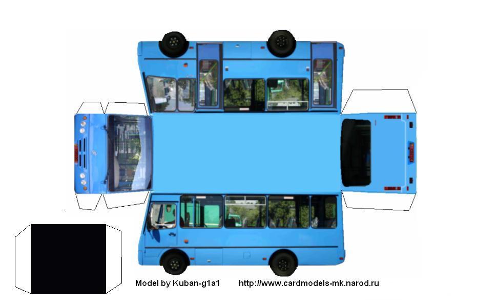 Как сделать автобус фото 716